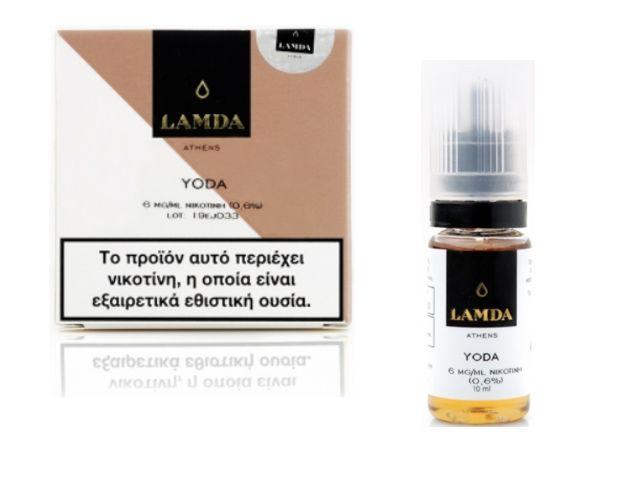 10462 - Υγρό αναπλήρωσης LAMDA YODA 3*10ml (Virginia)