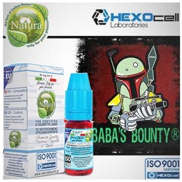 5439 - Υγρό αναπλήρωσης Natura BABAS BOUNTY από την hexocell 10ml (παγωτό μπανάνα)