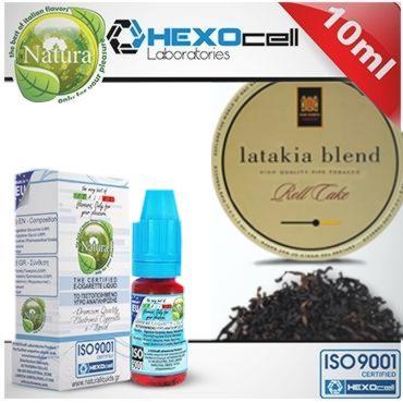 7693 - Υγρό αναπλήρωσης Natura LATTAKIA από την hexocell 10ml (καπνικό)