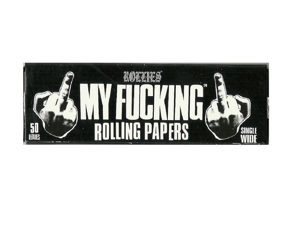 746 - Xαρτάκια My Fucking Rolling Papers