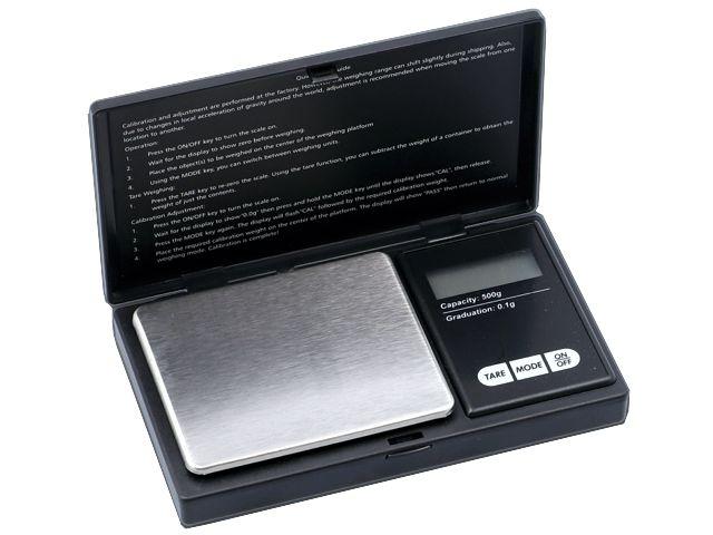 11090 - Ζυγαριά ακριβείας DIGITAL SCALE 500g x 0,1g MH PROFESIONAL MINI 661-9043